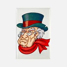 Mean Old Scrooge Rectangle Magnet