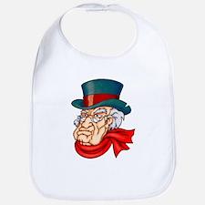 Mean Old Scrooge Bib