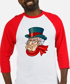 Mean Old Scrooge Baseball Jersey