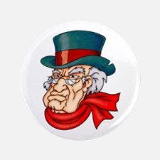 "Mean Old Scrooge 3.5"" Button"
