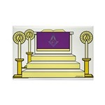 The Altar Rectangle Magnet
