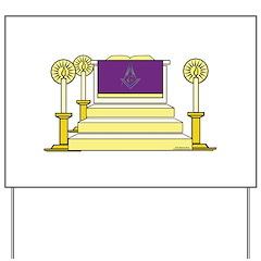 The Altar Yard Sign