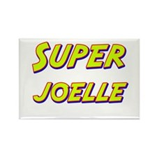 Super joelle Rectangle Magnet