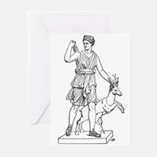 Diana and Stag Greeting Cards (Pk of 20)