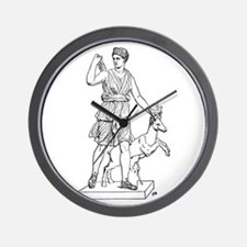 Diana and Stag Wall Clock