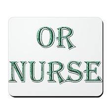 OR Nurse Mousepad