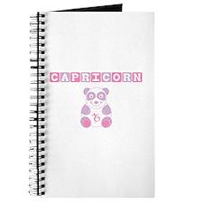 Capricorn Bear - Pink Journal