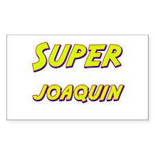 Super joaquin Rectangle Decal