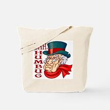 Humbug Scrooge Tote Bag