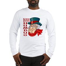 Humbug Scrooge Long Sleeve T-Shirt