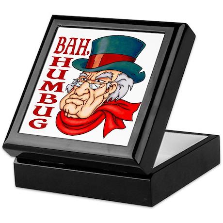 Humbug Scrooge Keepsake Box
