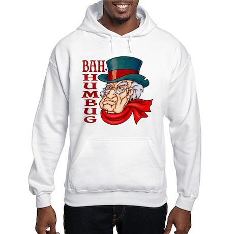 Humbug Scrooge Hooded Sweatshirt