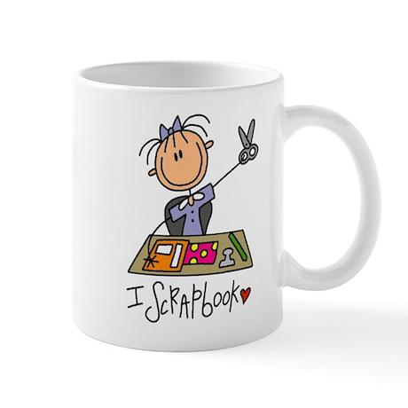 I Scrapbook Mug