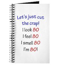 Cut the crap 80 Journal