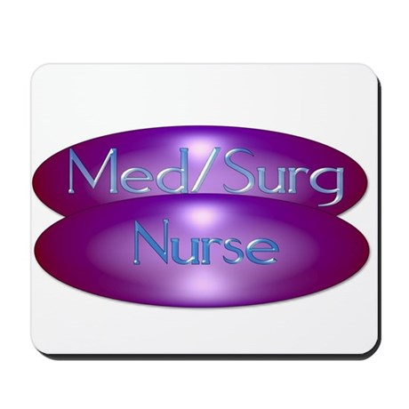 Med/Surg Nurse Mousepad