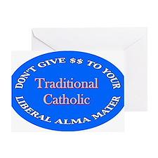 Unique Alma mater Greeting Card