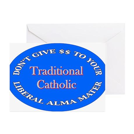 alma mater3 Greeting Cards