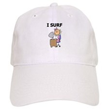 Female I Surf Baseball Cap