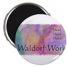 "Unique Waldorf 2.25"" Magnet (10 pack)"