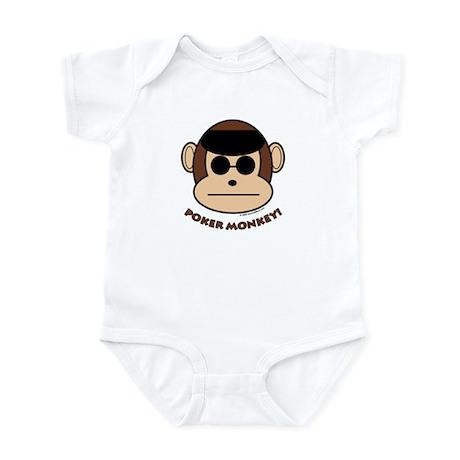 Poker Monkey Infant Creeper
