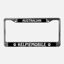 Australian Kelpiemobile License Plate Frame
