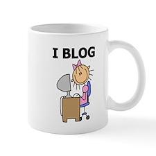 Female I Blog Mug