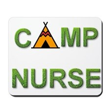 Camp Nurse Mousepad