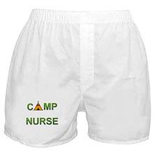Camp Nurse Boxer Shorts