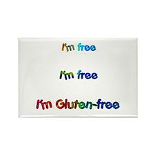 I'm Free Gluten- Rectangle Magnet Magnets