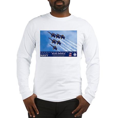 Blue Angels F-18 Hornet Long Sleeve T-Shirt