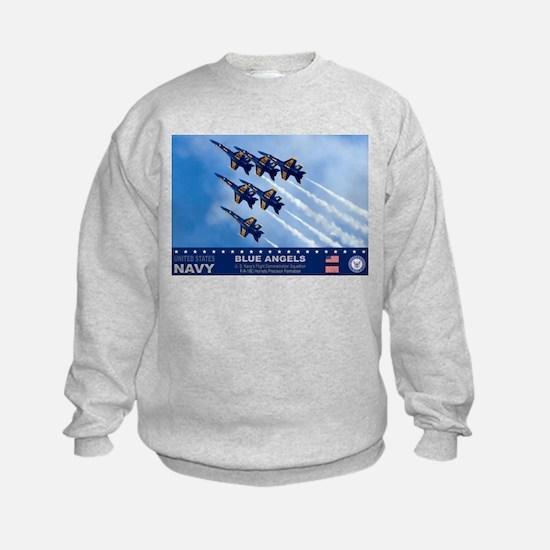 Blue Angels F-18 Hornet Sweatshirt