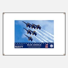 Blue Angels F-18 Hornet Banner