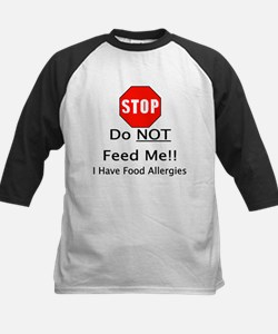 Do not feed me, allergies Baseball Jersey
