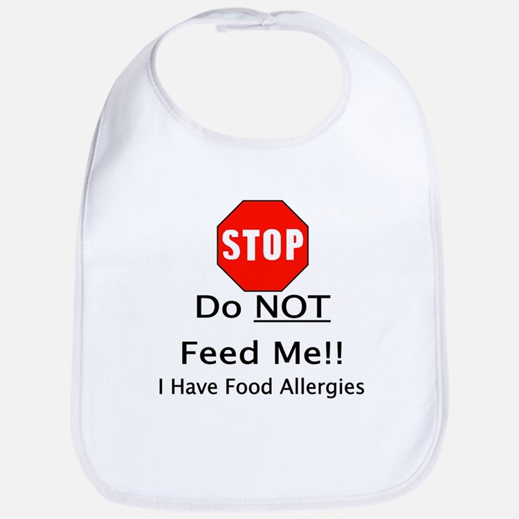 Cute Kids allergy Bib