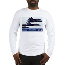 Blue Angels F-18 Hornet Long Sleeve T-Shirt