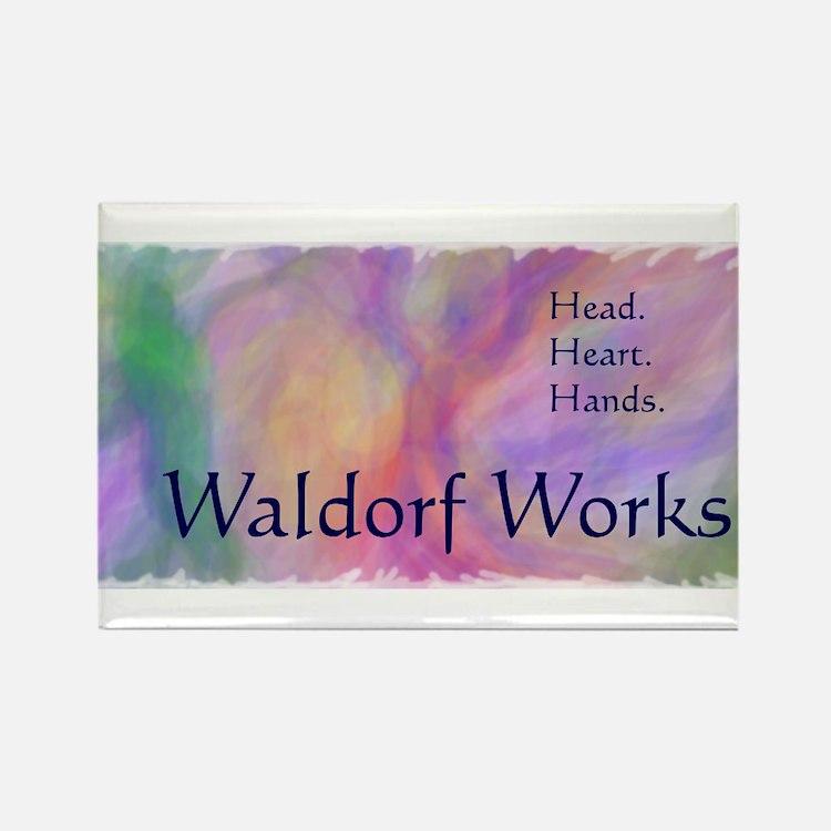 Cute Waldorf Rectangle Magnet
