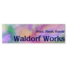 Waldorf Works Bumper Bumper Sticker