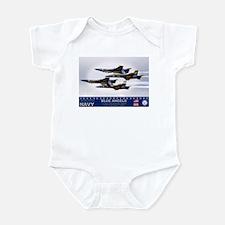 Blue Angels F-18 Hornet Infant Bodysuit