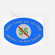 Cute Alma mater Greeting Card