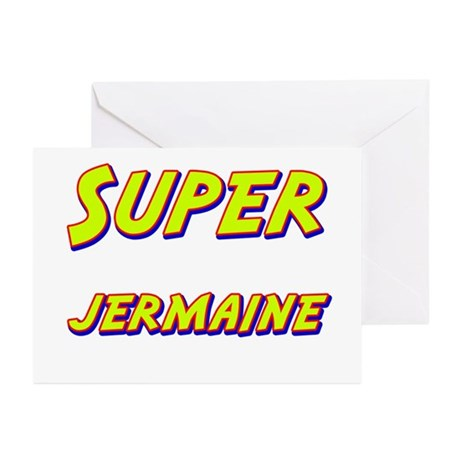 Super jermaine Greeting Cards (Pk of 10)