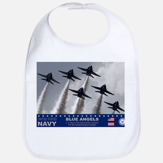 Blue Angels F-18 Hornet Bib