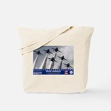 Blue Angels F-18 Hornet Tote Bag