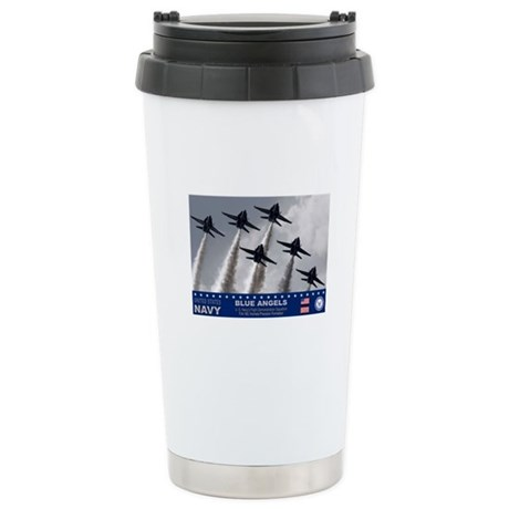 Blue Angels F-18 Hornet Stainless Steel Travel Mug