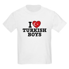 I Love Turkish Boys T-Shirt