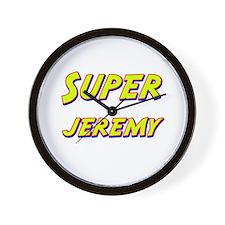 Super jeremy Wall Clock