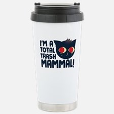 Hello, I am a Total Trash Mammal Travel Mug