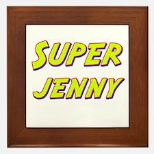 Super jenny Framed Tile