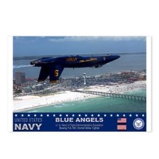 Blue Angels F-18 Hornet Postcards (Package of 8)