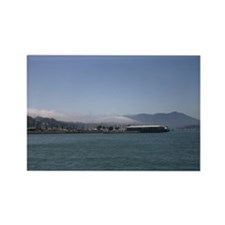 gifts! Sausalito fog Rectangle Magnet