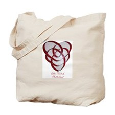 Celtic knot of motherhood tote bag